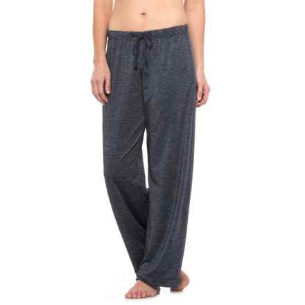 C & C California Knit Wide-Leg Lounge Pants (For Women) in Denim Blue - Closeouts
