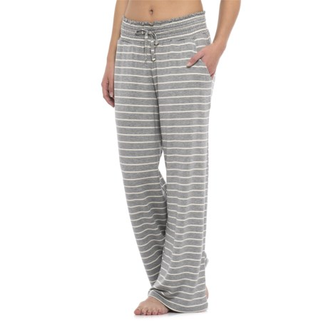 C & C California Striped Lounge Pants (For Women)