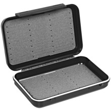 C & F Design 2500 Waterproof Streamer Fly Box - Medium in Black - Closeouts