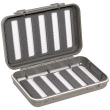 C & F Design 2555 Waterproof Fly Box - 10 Row, Medium in Light Grey - Closeouts