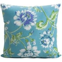 "C & F Enterprises Cyan Pillow - 14x14"" in Cyan - Closeouts"