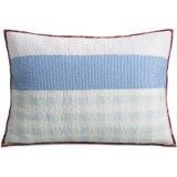 C & F Enterprises Emma Patchwork Stripe Pillow Sham - Standard