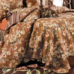 C & F Enterprises Emma Reversible Quilt - Full/Queen in Emma