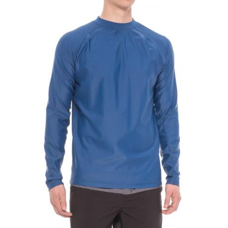 Cabana Life Rash Guard - UPF 50+, Long Sleeve (For Men) in Navy Blue
