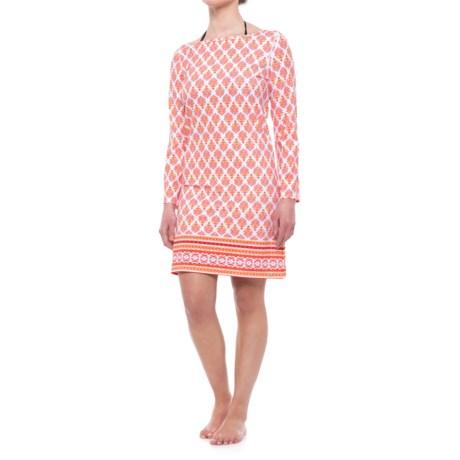 Cabana Shift Dress - UPF 50+, Long Sleeve (For Women)