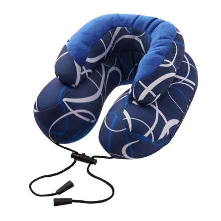 Evo Microbead Travel Neck Pillow in Cabeau Blue Swerve - Closeouts