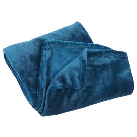 Cabeau Fold 'n Go Blanket and Case in Blue