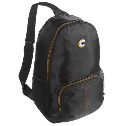 Sling Pack Compact Backpack in Black - Closeouts
