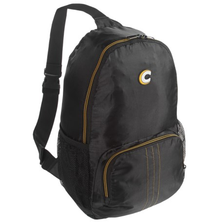 Cabeau Sling Pack Compact Backpack in Black