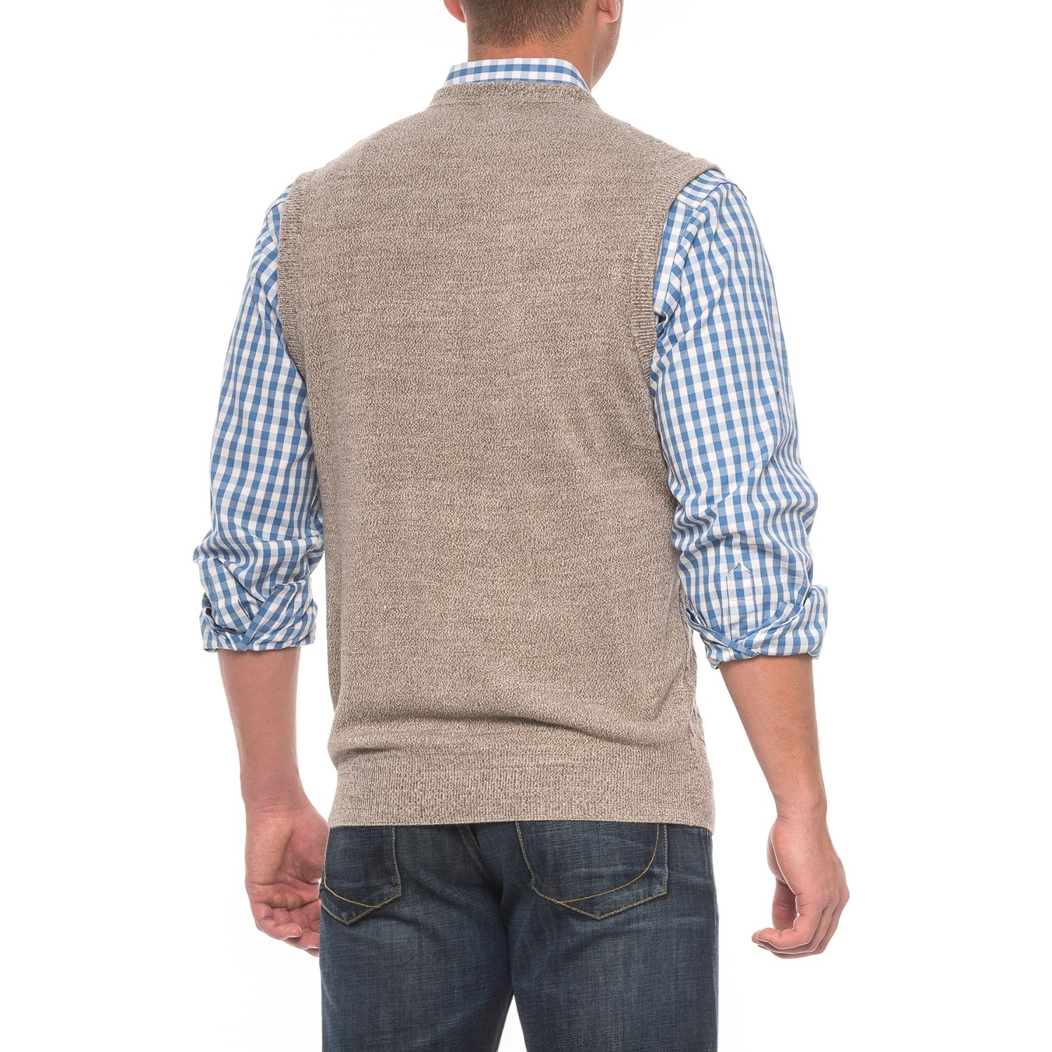 Cable-Knit Sweater Vest (For Men) - Save 60%
