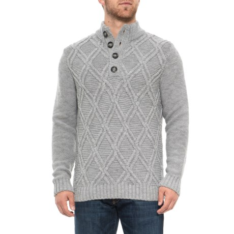 Image of Cable Sweater (For Men)
