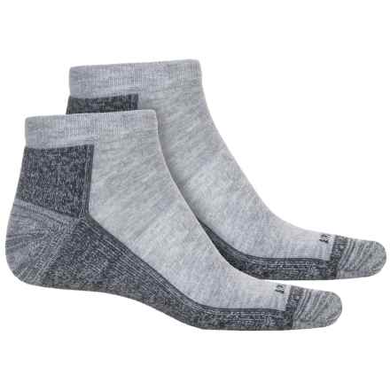Cabot & Sons CoolMax® Protreds Socks - 2-Pack, Below the Ankle (For Men) in Light Grey - Overstock