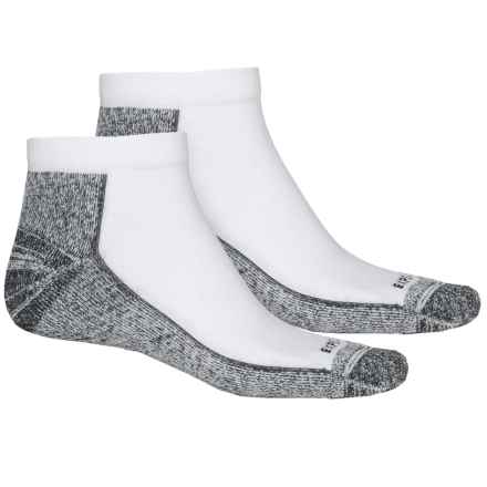 Cabot & Sons CoolMax® Protreds Socks - 2-Pack, Below the Ankle (For Men) in White/Black - Overstock