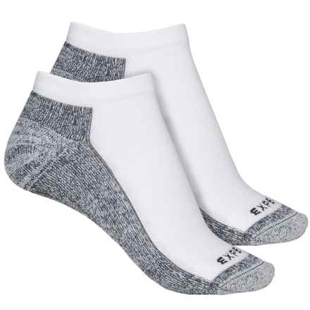 Cabot & Sons CoolMax® Protreds Socks - 2-Pack, Below the Ankle (For Women) in White/Black - Overstock
