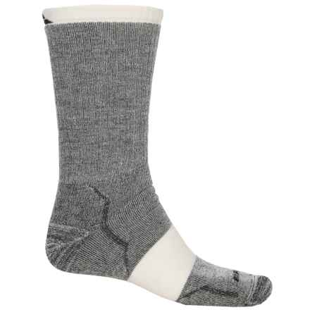 Cabot & Sons Hiking Socks - Merino Wool, Crew (For Men) in Black - Overstock