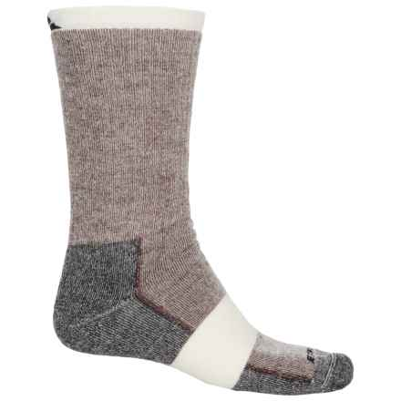 Cabot & Sons Hiking Socks - Merino Wool, Crew (For Men) in Chestnut - Overstock