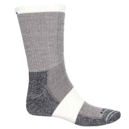 Cabot & Sons Hiking Socks - Merino Wool, Crew (For Men) in Espresso - Overstock