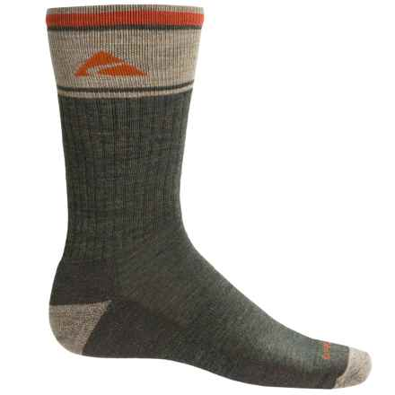 Cabot & Sons Hiking Socks - Merino Wool, Crew (For Men) in Forest - Overstock