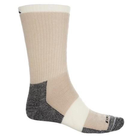 Cabot & Sons Hiking Socks - Merino Wool, Crew (For Men) in Khaki