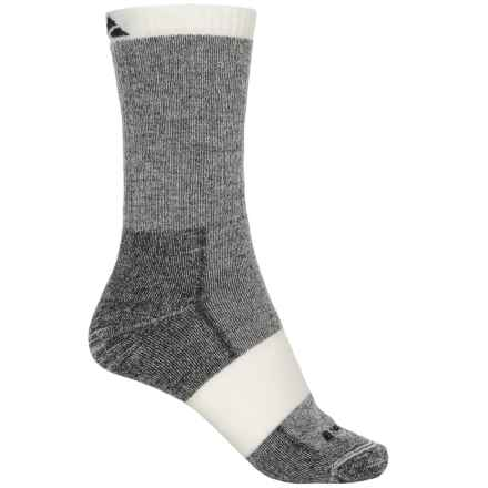 Cabot & Sons Hiking Socks - Merino Wool, Crew (For Women) in Black - Overstock