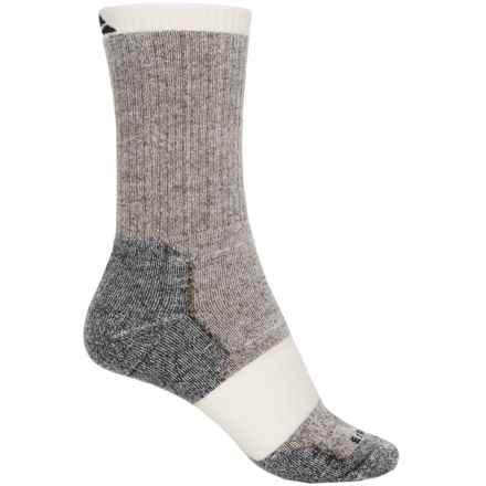 Cabot & Sons Hiking Socks - Merino Wool, Crew (For Women) in Chestnut - Overstock
