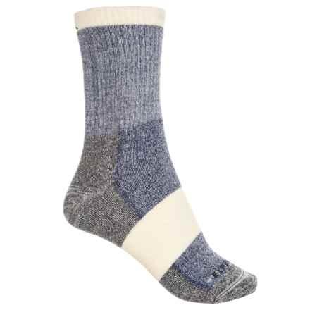 Cabot & Sons Hiking Socks - Merino Wool, Crew (For Women) in Dark Navy - Overstock