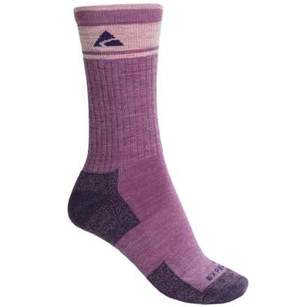 Cabot & Sons Hiking Socks - Merino Wool, Crew (For Women) in Violet - Overstock