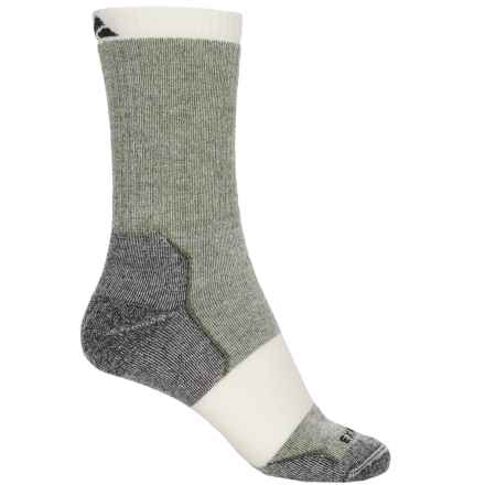 Cabot & Sons Merell Hiking Socks - Merino Wool, Crew (For Women) in Loden - Overstock