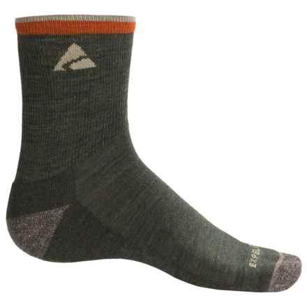 Cabot & Sons Trail Socks - Merino Wool, Quarter Crew (For Men) in Forest - Overstock