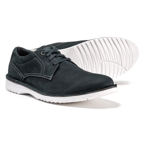 Image of Cabot Plain-Toe Oxford Shoes - Leather (For Men)