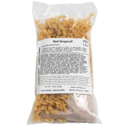 Cache Lake Beef Stroganoff - 2 Servings in See Photo - Closeouts