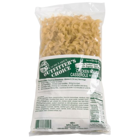 Cache Lake Chicken Noodle Casserole - 2 Servings in See Photo