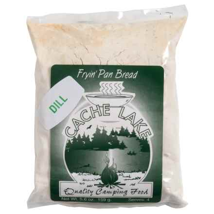Cache Lake Fryin' Pan Bread - 4 Servings in Dill - Closeouts