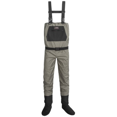 Caddis Breathable Chest Waders - Stockingfoot (For Men) in Sage