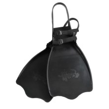 Caddis Kick Tube Fins in Black - Overstock