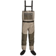 Caddis Northern Guide Lightweight Waders with Jacket - Stockingfoot (For Men) in Taupe/Brown - Closeouts