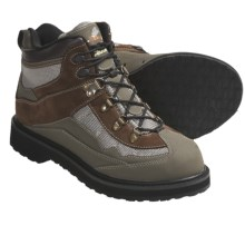 Caddis Northern Guide Traditional Wading Shoes (For Men and Women) in Olive/Brown - Closeouts