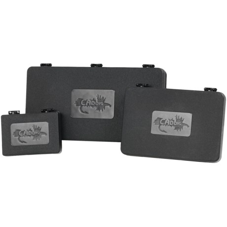 Caddis Triple Fly Box Combo in Black