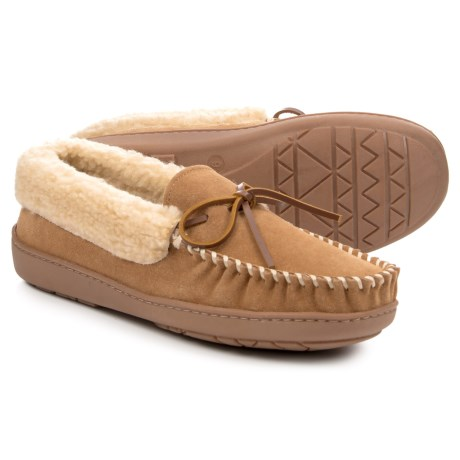 Image of Cade Trapper Slippers - Suede (For Men)