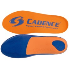 Cadence Replacement Insoles (For Men and Women) in Blue/Orange - Closeouts