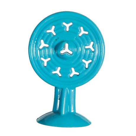 Caitec Chase 'n' Chomp Suction Cup Pupsicle Dog Toy in Blue