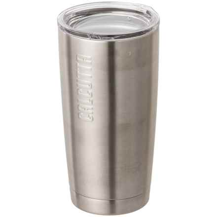 Calcutta Stainless Steel Insulated Traveler Tumbler - 20 oz. in Stainless - Closeouts