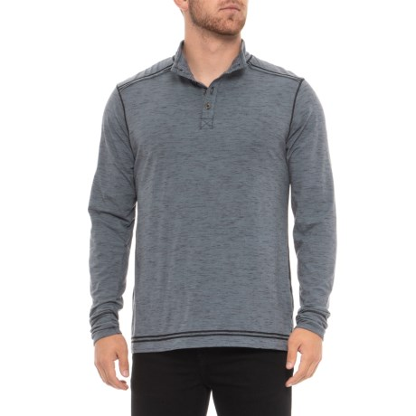 Image of Caleb Henley Shirt - Organic Cotton Blend, Long Sleeve (For Men)