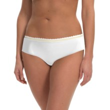 Calida Allure Panties - Boy Shorts (For Women) in White - Closeouts