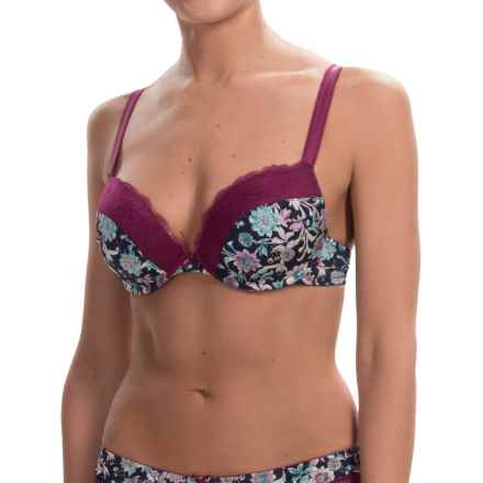 Calida Amuse-Bouche Bra - Underwire (For Women) in Magenta Purple - Closeouts