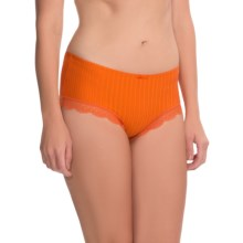 Calida Aura Panties - Boy Shorts (For Women) in Harvest Pumpkin - Closeouts