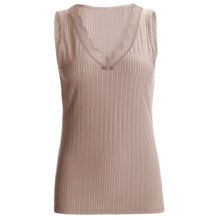 Calida Aura Tank Top - V-Neck (For Women) in Etherea - Closeouts