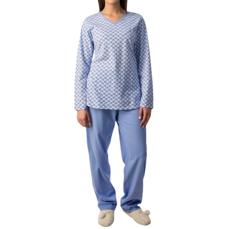 Calida Autumn Day Pajamas Long Sleeve (For Women)