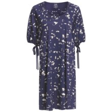 Calida Blue Lagoon Nightshirt - Micromodal®, Short Sleeve (For Women) in Astral Blue - Closeouts