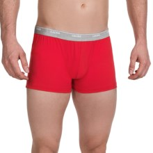 Calida Boxer Briefs - Stretch Pima Cotton (For Men) in Red - Closeouts